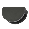 Dar Lighting ADY2139 Adyson Wall Light Adjustable Circle Anthracite IP65 LED