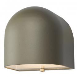 Dar Lighting EGH1532 Egham Wall Light Silver LED IP44