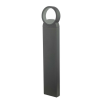 Dar Lighting REO4539 Outdoor Post With Square Light Anthracite IP65 LED