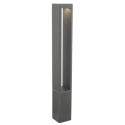 Dar Lighting SIT4539 Sitar Outdoor Post Anthracite IP65 LED