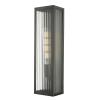 Dar Lighting KEE5063 Keegan Wall Light Rubbed Bronze Large IP44