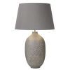 Dar Lighting CEY4239 Ceyda Table Lamp Ceramic & Grey Base Only