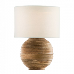 Dar Lighting YUR4249 Yurt Table Lamp Wood Base Only