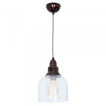 Culinary Concepts LX-2133-DOLV Large Whitechapel Hanging Light Dark Olive