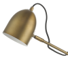 Dar Lighting MEN4263 Mendal Task Lamp Bronze & Marble