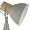 Dar Lighting ADN4939 Adna Floor Lamp Grey & Wood