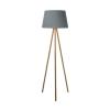 Dar Lighting YOD4943 Yodella Floor Lamp Wood Base Only