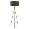Dar Lighting BAM4975 Bamboo Floor Lamp Antique Brass Base Only