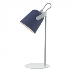 Dar Lighting EFF4123 Effie Task Lamp Blue & White