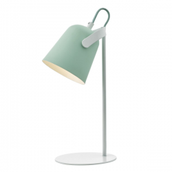Dar Lighting EFF4124 Effie Table Lamp Pale Green and White