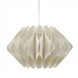Dar Lighting ESI6515 Esidro Easy Fit Pendant Ivory