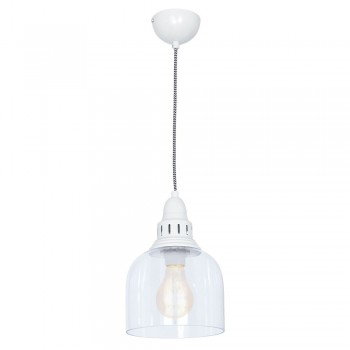 Culinary Concepts LX-2133-DVGRY Large Whitechapel Hanging Light Dove Grey