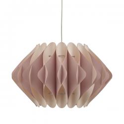 Dar Lighting ESI6503 Esidro Easy Fit Pendant Pink & Cream