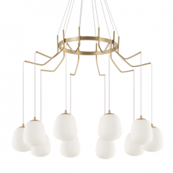 Ideal Lux 206394 Karousel SP10 10 Light Pendant