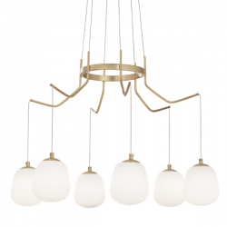 Ideal Lux 206387 Karousel SP 6 Light Pendant