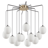 Ideal Lux 236964 Rhapsody SP12 12 Light Pendant