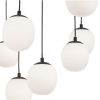 Ideal Lux 236964 Rhapsody SP16 16 Light Pendant in Brass and Matt Black