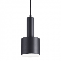 Ideal Lux 231563 Holly SP1 Pendant Light in Black