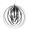 Ideal Lux 114262 Disco SP1 Pendant Light in Black