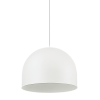 Ideal Lux 196770 Tall SP1 Big Pendant Light in White