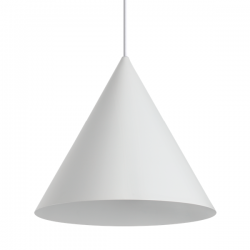 Ideal Lux 232744 A-Line SP1 D30 Pendant in White