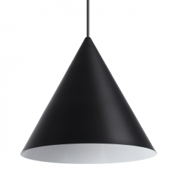 Ideal Lux 232744 A-Line SP1 D30 Pendant in Black