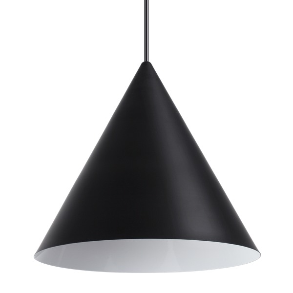 Ideal Lux 232744 A-Line SP1 D30 Pendant in Black
