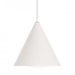 Ideal Lux 232690 A-Line SP1 D13 Pendant Light in White