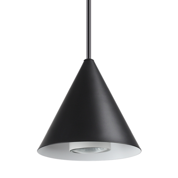 Ideal Lux 232713 A-Line SP1 D13 Pendant Light in Black
