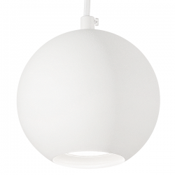 Ideal Lux 116457 Mr Jack SP1 Small Pendant in White
