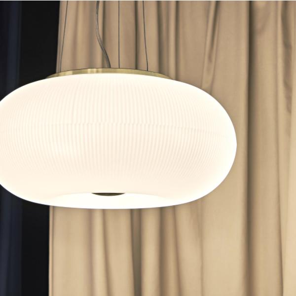 Ideal Lux 214481 Arizona SP5 Pendant Light in White