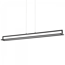 Ideal Lux 235141 Rail SP Pendant Light in Black