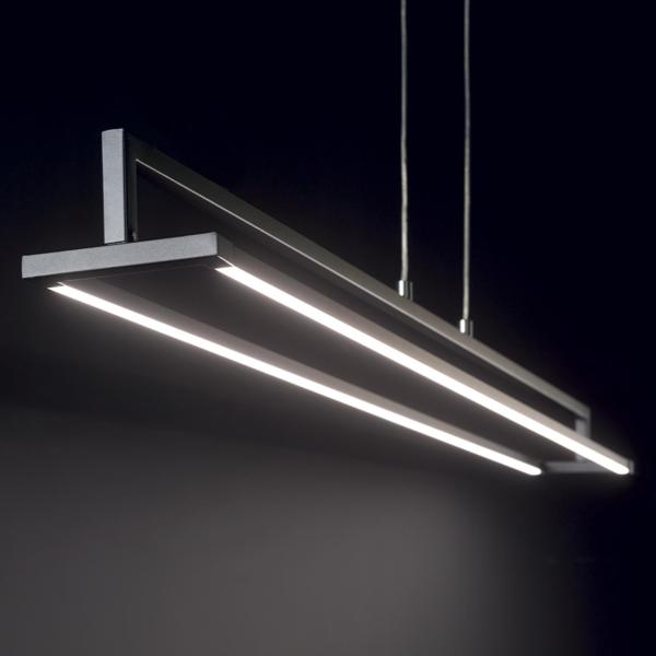 Ideal Lux 235141 Rail SP Pendant Light in Black