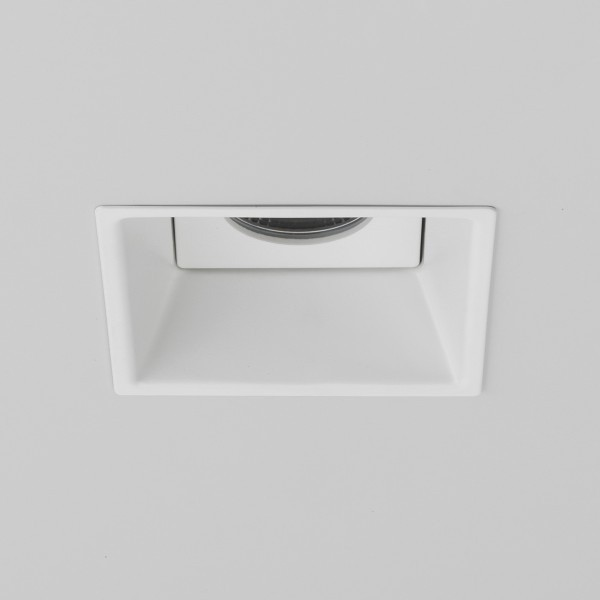Astro Minima 6.1W Square Matt White Fire-Rated Bathroom LED Downlight