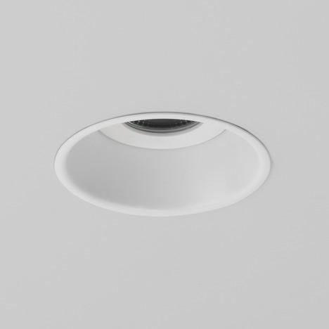 Astro Minima 6.1W Round Matt White Fire Rated Bathroom LED Downlight