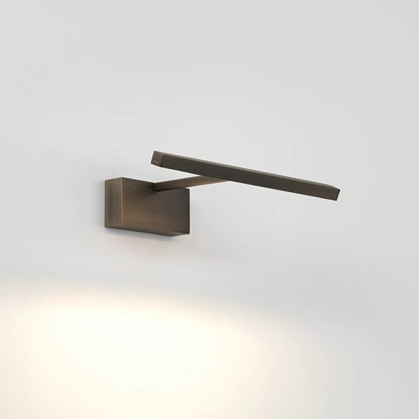 Astro Mondrian 300 Wall Mounted Bronze LED Picture Light
