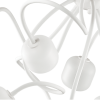 Ideal Lux 174990 Octopus PL9 Pendant Light in White