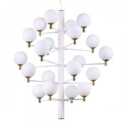 Ideal Lux 197326 Copernico SP20 Pendant Light in White
