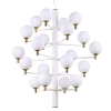 Ideal Lux 197326 Copernico SP20 Pendant Light in White