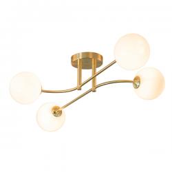 Endon Lighting 75959 Otto 4 Light Ceiling Light in Brushed Brass