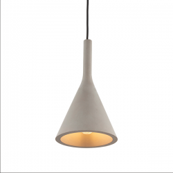 Endon Lighting 79902 Jakob Pendant in Concrete Grey