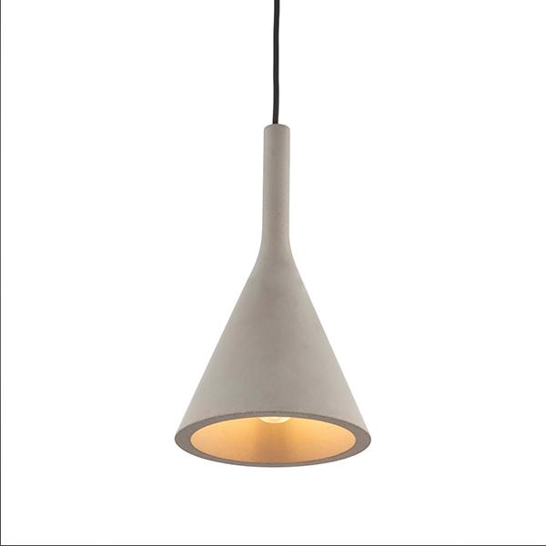 Endon Lighting 79902 Jakob Pendant in Concrete Grey