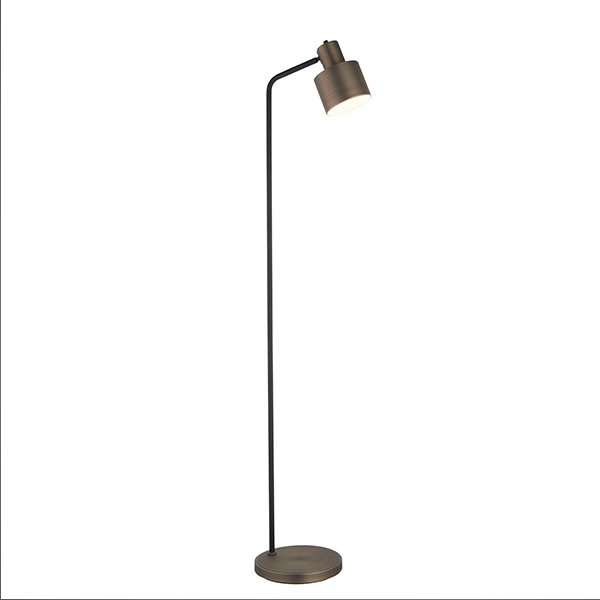 Endon Lighting 78706 Mayfield Task Floor Lamp in Dark Bronze