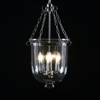 Love 4 Lighting MG046 Large Chrome and Glass Hundi/Bell Jar Chandelier