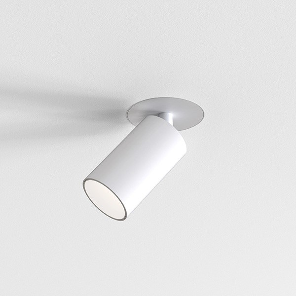 Astro Can 50 Flush Fire-Rated Indoor Spotlight in Matt White