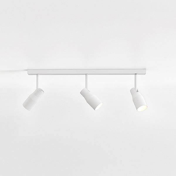 Astro Apollo Triple Bar Indoor Spotlight in Textured White