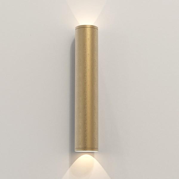 Astro Ava 400 Coastal Wall Light in Coastal Brass