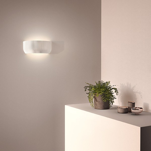 Astro Blend Indoor Wall Light in Plaster