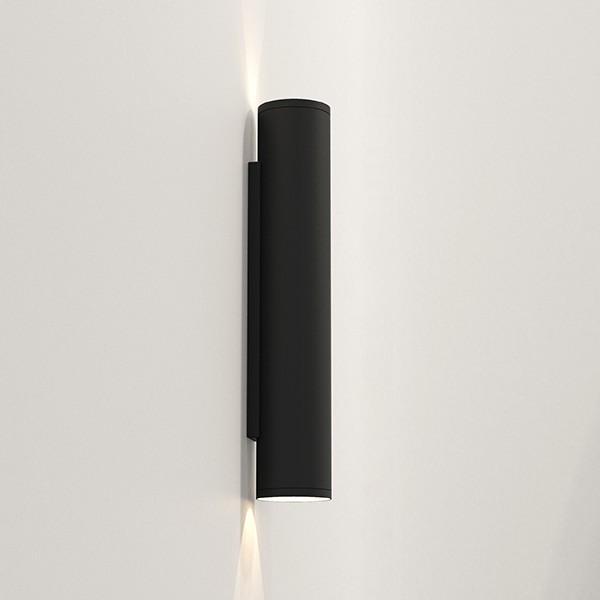 Astro Ava 400 Outdoor Wall Light in Textured Black