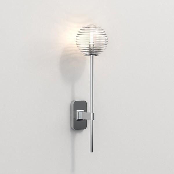 Astro Tacoma Single Grande Bathroom Wall Light in Polished Chrome